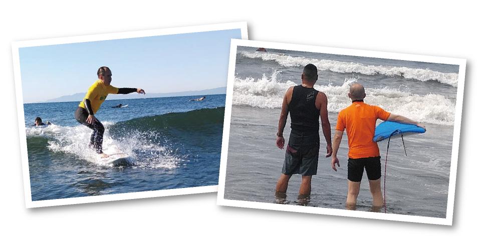 ブラインドサーフィンイメージ写真